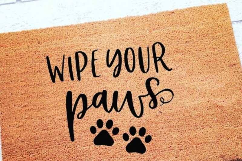 Free Wipe Your Paws Dog Cat Svg Dxf Eps Png Cut File Cricut Silhouette Crafter File 8765654 Download Free Svg Files For Cricut Silhouette And Brother Scan N Cut
