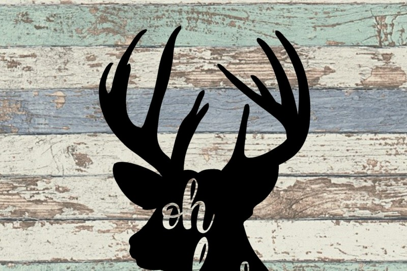 Oh Deer Svg Design Free 3d Svg Cut Files