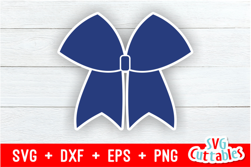 Cheer Bow Svg By Svg Cuttables Thehungryjpeg Com