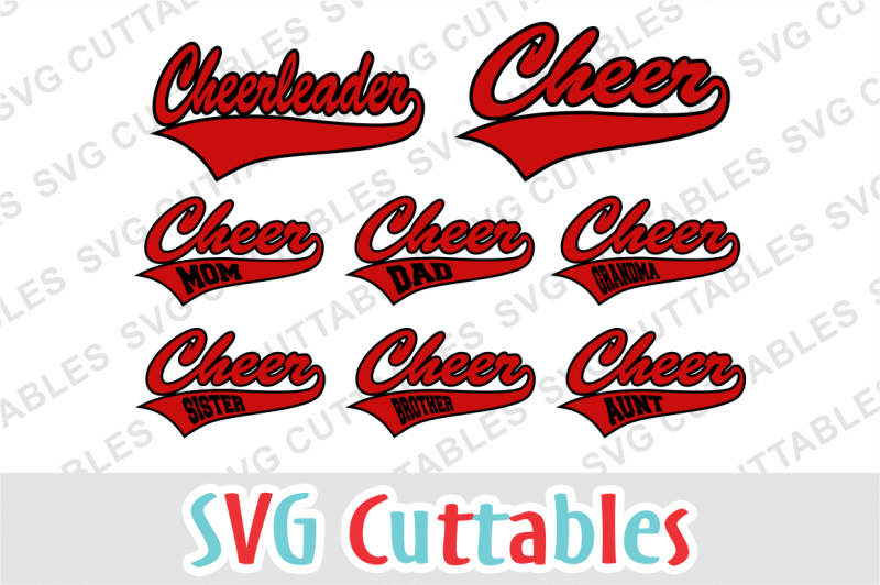Free Cheer Cheerleader Svg Cut File Crafter File Download Free Split Monogram Svg Files For Cricut