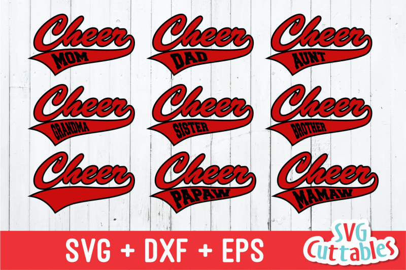 Cheer Cheerleader Svg Cut File By Svg Cuttables Thehungryjpeg Com