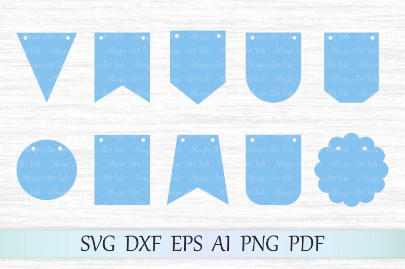 Free Bunting Banners Svg Dxf Eps Ai Pdg Png Crafter File Free Best Svg Cut Files