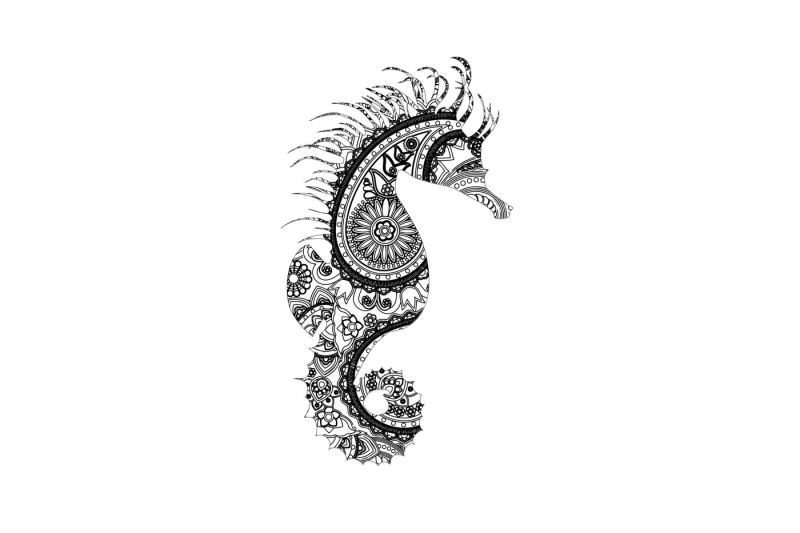 Free Mandala Seahorse Svg Dxf Png Eps Ai Crafter File Free Svg Files For Cricut Silhouette Sizzix And Many Other Svg Compatible Electronic Cutting Machi