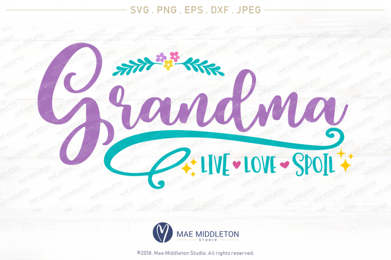 photo relating to All About Grandma Printable named Absolutely free Grandma, Dwell, Get pleasure from, Damage, printable, lower record, svg