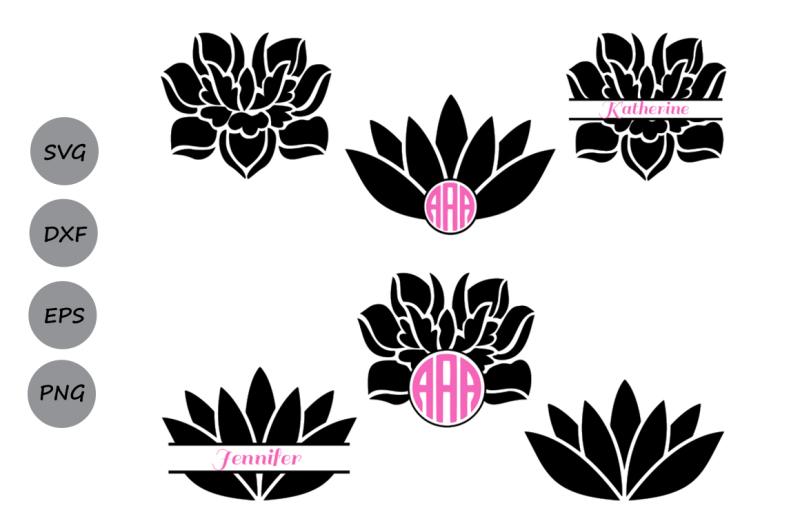 Free Lotus Svg Cut Files Lotus Monogram Svg Lotus Flower Svg Lotus Yoga Crafter File All Download Free Svg Cut File
