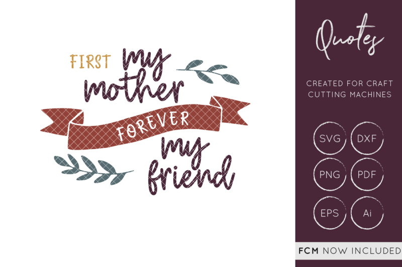 Mothers Day Svg Cut File Mother S Day Svg Cutting File Mom Svg