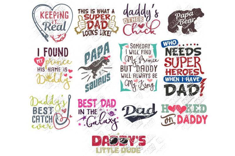 Free Father S Day Svg Bundle Crafter File Digital Cut Files Etsy