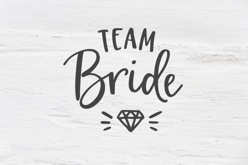 Free Team Bride Wedding Svg Eps Png Dxf Svg Free Download Svg Files Boho