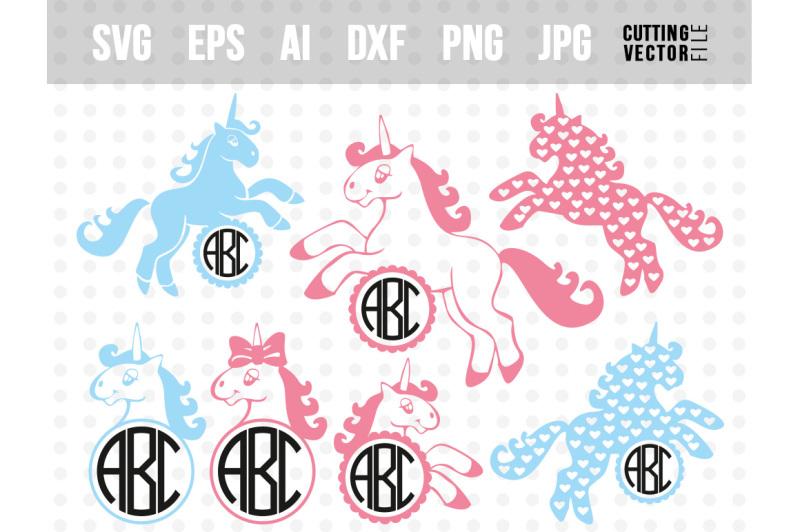 Free Unicorn Vector Bundle svg eps ai dxf png jpg SVG - Free