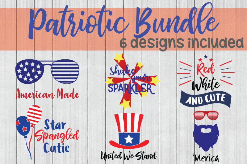 Free Patriotic Svg Bundle Fourth Of July Svg Cuttable Files Crafter File