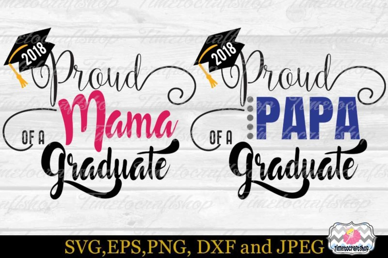 Free SVG, Dxf, Eps & Png Cutting Files Graduation, Proud ...