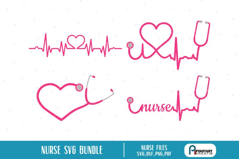 Free Nurse Svg Nurse Svg File Nurse Svg Heartbeat Svg Stethoscope Svg Crafter File