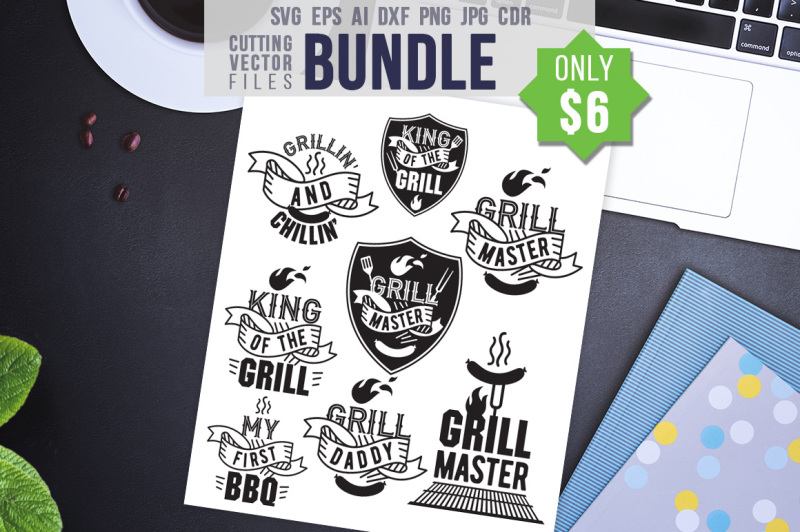 Free Bbq Bundle Svg Eps Ai Cdr Dxf Png Jpg Crafter File Top Icons Free Download Limit Instagram Free Social Media
