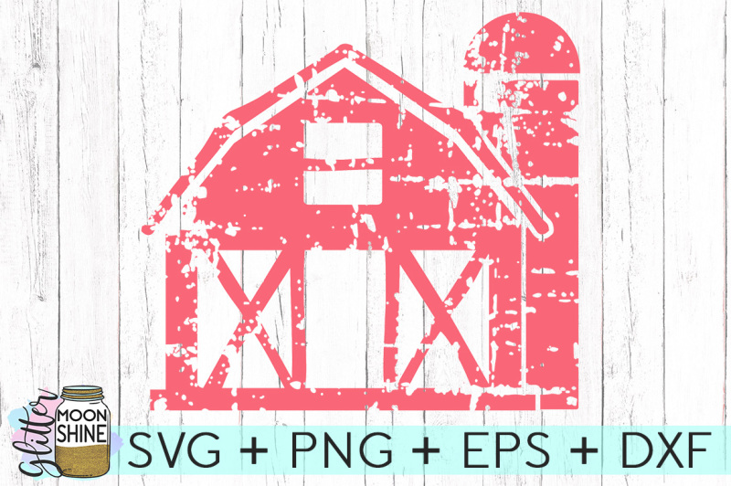 Download Free Distressed Barn SVG DXF PNG EPS Cutting Files Crafter ...