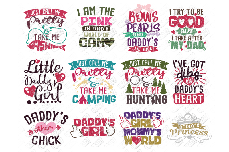 Free Daddy S Girl Svg In Svg Dxf Png Jpeg Eps Crafter File Free Svg Cut Files Png Images