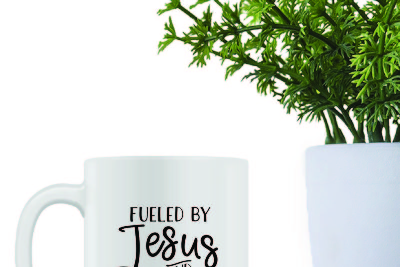 Free Fueled By Jesus And Coffee Svg Free Cheer Svg Cut Files