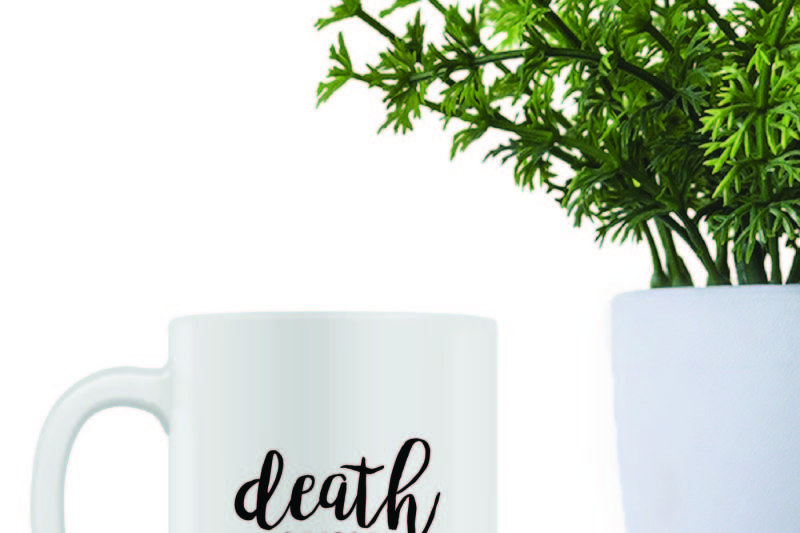 Free Death Before Decaf Crafter File All Free Svg Cut Files
