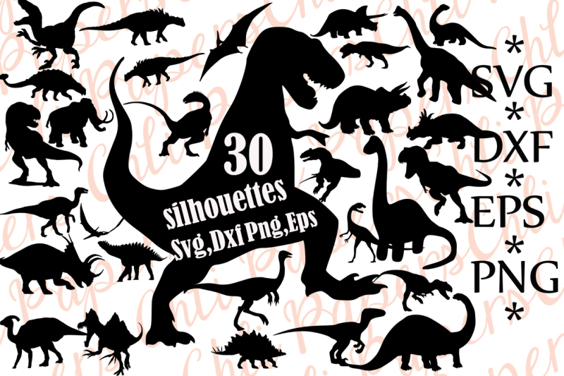 Download Free Dinosaurs Silhouettes Svg.DINOSAURS CLIPART,Dinosaur ...