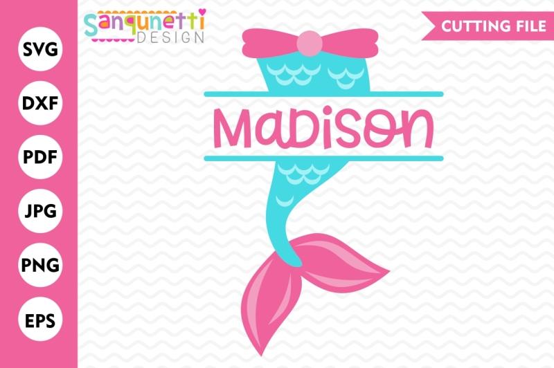 Free Mermaid Tail Svg Mermaid Svg Mermaid Split Design Mermaid Cut File Crafter File