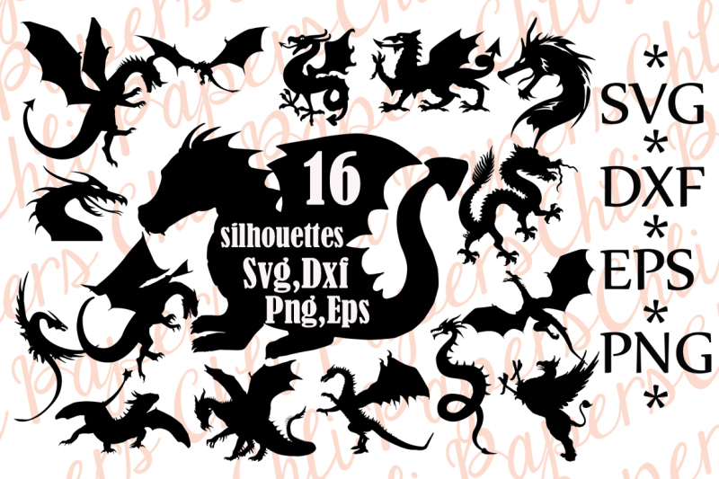 Free Dragon Silhouette Svg Dragon Clipart Dragon Bundle Svg Dragon Cut F Crafter File Best Free Svg Files Downloads Free Vector Download For Commercial Use