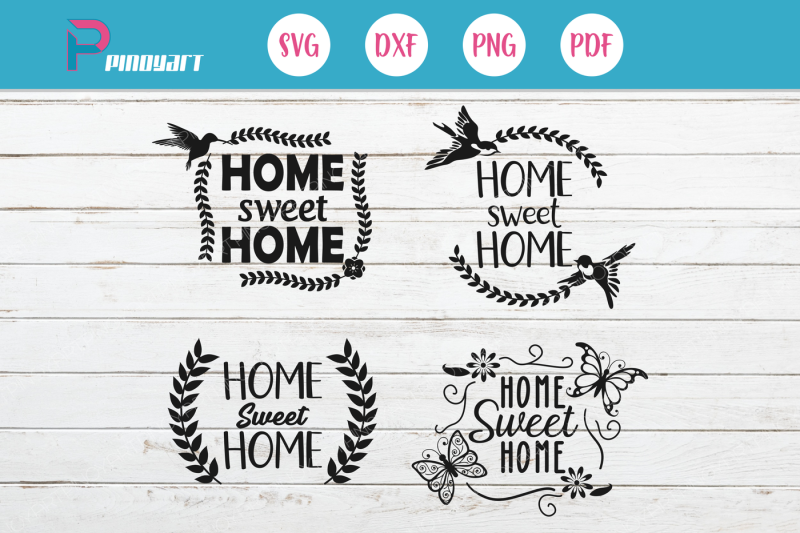 Free Home Sweet Home Svg Home Svg Home Svg File House Svg Svg Svg File Crafter File Download Free Svg Cut Files
