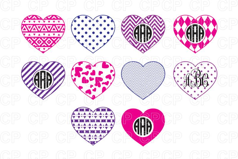 Free Heart Svg Bundle Cut Files Valentines Day Svg Heart Clipart Crafter File Free Svg Cut Files