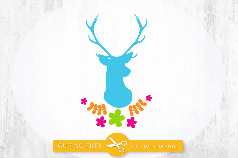 View Deer – Tis The Season To Sparkle / Svg Png Dxf DXF