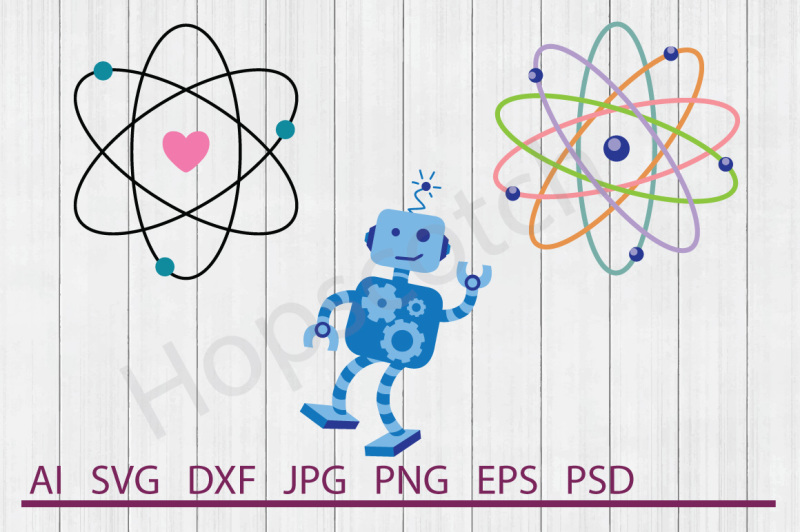 Free Science Bundle, SVG Files, DXF Files, Cuttable Files Crafter
