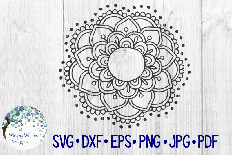 Free Mandala Name Monogram Border Frame Crafter File Download Here Svg Free Cricut And Silhouette Cut Files