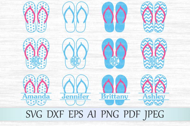 414dafe39137f Free Flip flop SVG