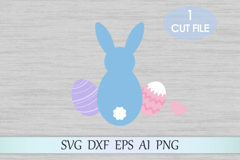 Easter Bunny Svg Dxf Eps Ai Png Pdf Jpeg Scalable Vector Graphics Design Download Svg Cut Files Free