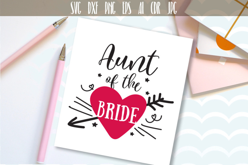 View The Bride Svg Vector DXF