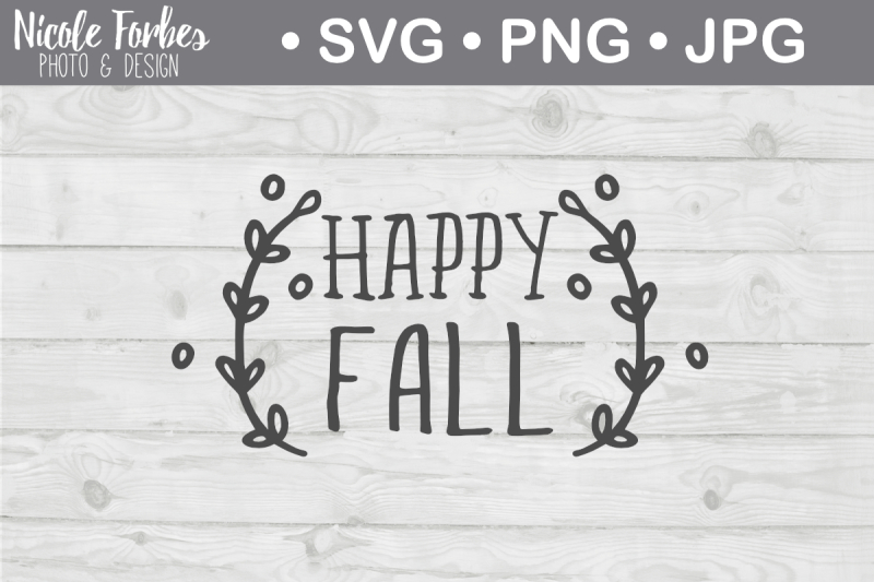 Free Happy Fall Svg Free Svg Cut Files Silhouette