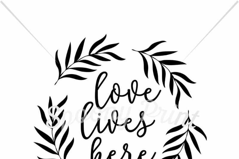 Free Love Lives Here Svg Free Icon Font Svg Pdf Png Generator