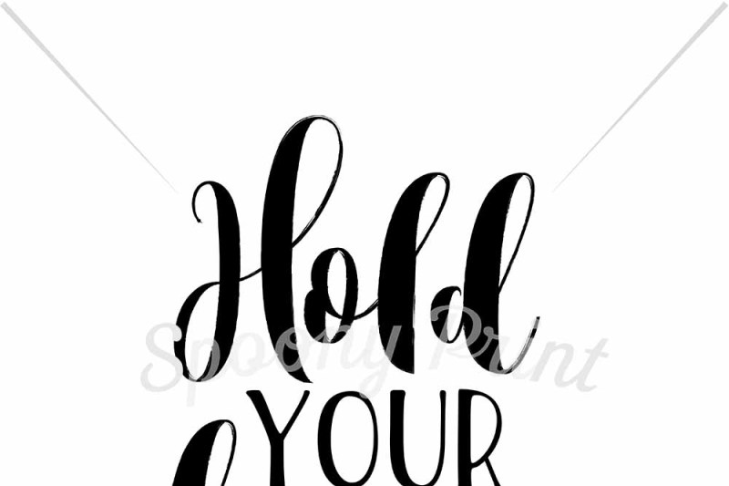 Hold Your Horses Design Free Cricut Svg File Fonts