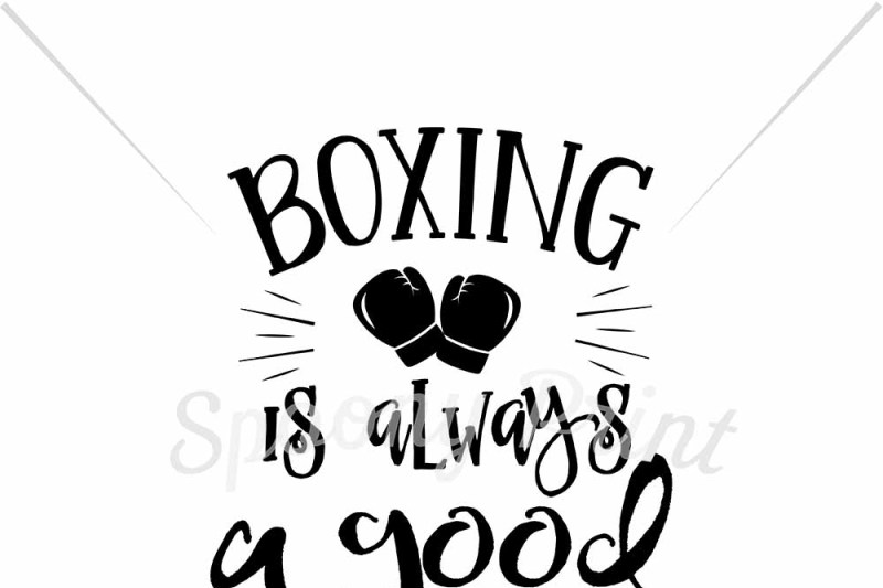Boxing Is Always A Good Idea By Spoonyprint Thehungryjpeg Com