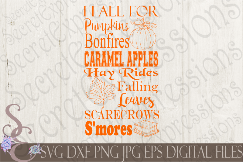 Free I Fall For Pumpkins Subway Art Svg Crafter File Cut Files Etsy