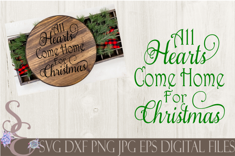Come Home For Christmas.All Hearts Come Home For Christmas By Secretexpressionssvg