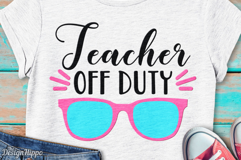 Free Teacher Off Duty svg, School, Teacher, Vacation, Summer