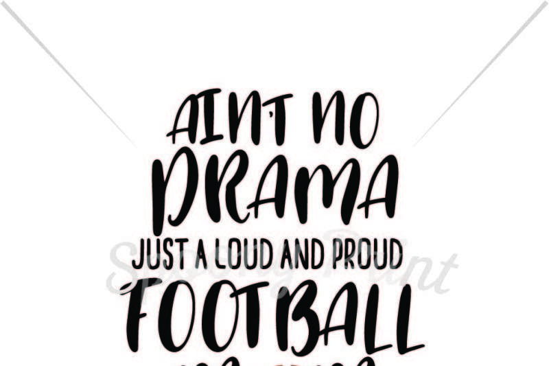 Free Loud and proud football mom Crafter File - Download Free SVG