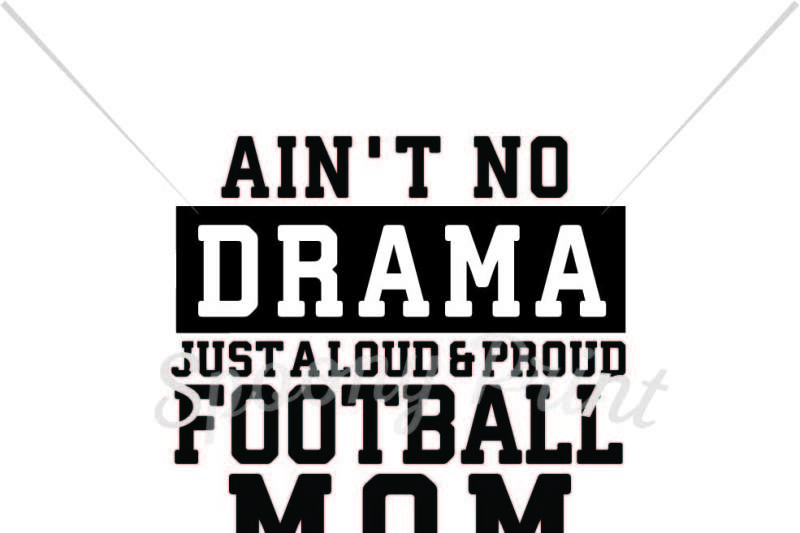 Free Loud & proud football mom Crafter File - Free SVG Cut ...