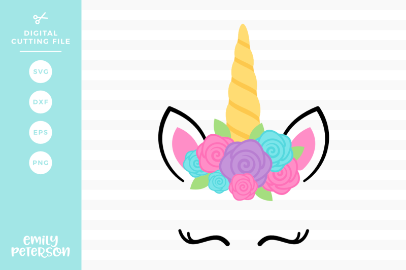 Free Unicorn Face Svg Dxf Crafter File Best Free Svg Files For Cricut Silhouette And Brother Scan N Cut