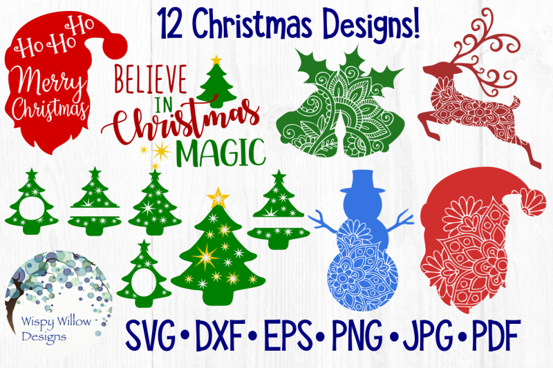 Free Christmas Bundle Svg Dxf Eps Png Jpg Pdf Crafter File All Free Christmas Svg Files For Cricut Download