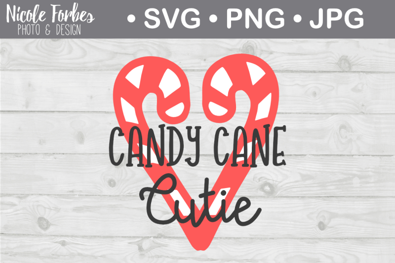 Free Candy Cane Cutie Svg Cut File Svg Png Jpg Pdf Svg Free Download Svg Files Christmas