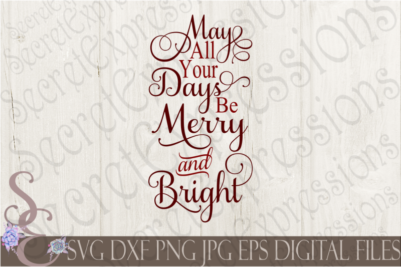 Free May All Your Days Be Merry Bright Crafter File Free Vector Icon Packs Svg Psd Flaticon Patterns