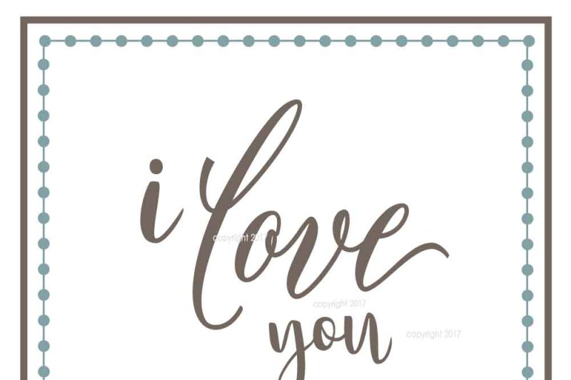 I Love You Svg Cut File By My Vinyl Designer Thehungryjpeg Com