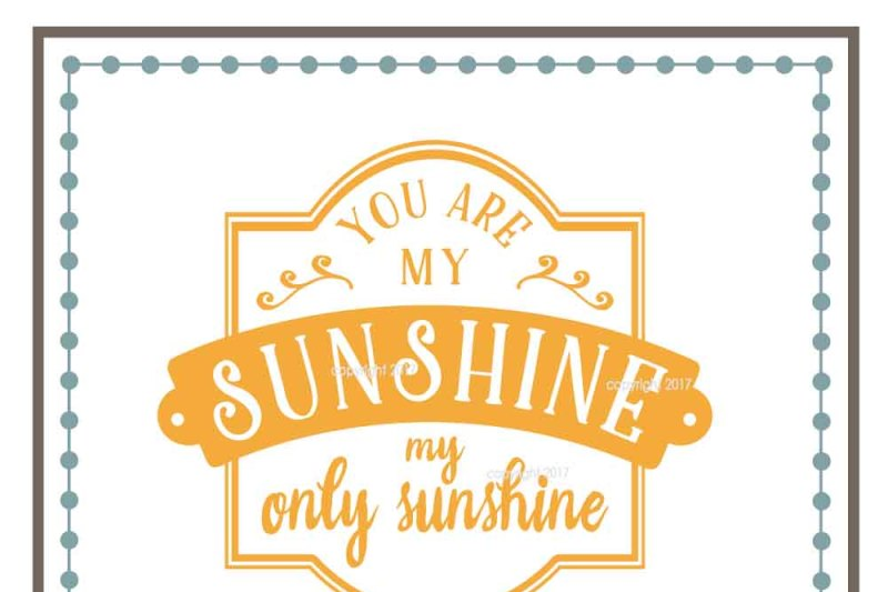 Free You Are My Sunshine Svg Cut File Crafter File Cut Vectors Photos And Psd Files Free Download
