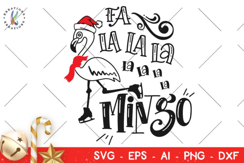 Free Christmas Svg Fa La La La Mingo Svg Christmas Jingles Svg Crafter File Free Svg Files Christmas