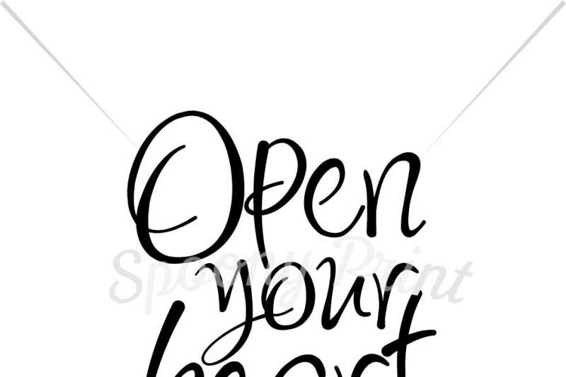 Open Your Heart Design Free Download Svg Files Tea