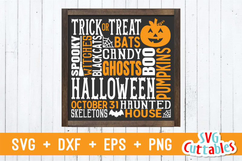 Free Halloween Subway Art Crafter File - Free SVG Files for